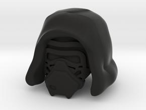Kylo Ren Hood in Black Natural Versatile Plastic