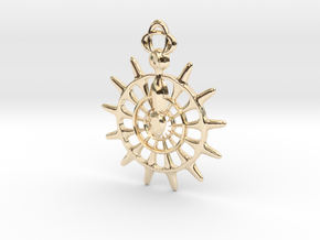 Knights of the Round  in 14K Yellow Gold