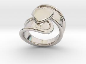 Valentinodayring  27 - Italian Size 27 in Platinum