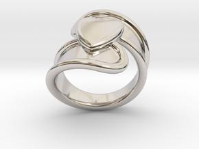 Valentinodayring  29 - Italian Size 29 in Platinum