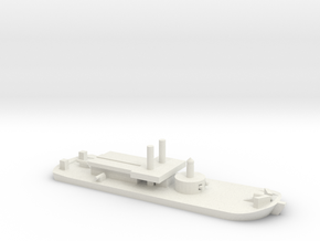 USS Ozark (1863), 1/600 in White Natural Versatile Plastic