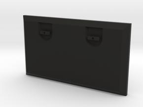 Porte Grand Caisson 70x40 in Black Natural Versatile Plastic