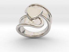 Valentinodayring  31 - Italian Size 31 in Platinum