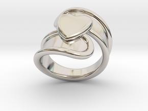 Valentinodayring  33 - Italian Size 33 in Platinum