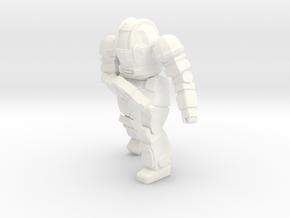 Ogre Mk II Pose 2 (Free Download) in White Processed Versatile Plastic