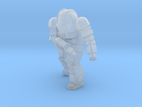 Ogre Mk II Pose 2 in Smooth Fine Detail Plastic