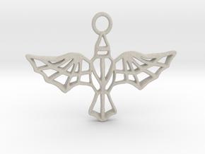 AETHON pendant in Natural Sandstone