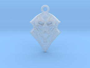 BORO pendant  in Smooth Fine Detail Plastic