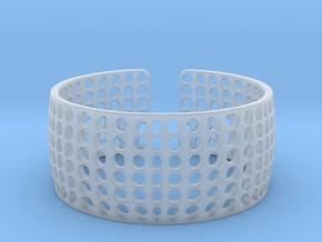 LOKA cuff  in Smooth Fine Detail Plastic