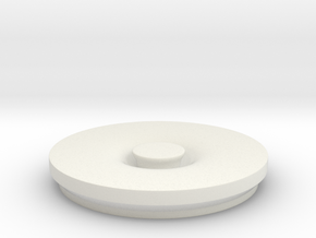 Garbage Lid in White Strong & Flexible