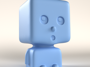 Cubaby in Blue Processed Versatile Plastic