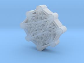 Ten Sefirot Molecule in Smooth Fine Detail Plastic