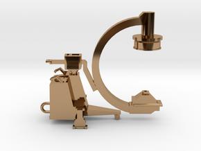 C-ARM - XRAY MACHINE in Polished Brass
