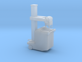 Portable xray machine in Smooth Fine Detail Plastic