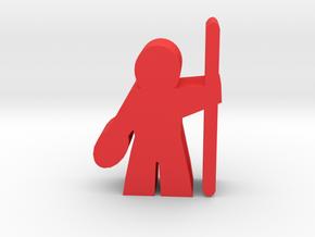 Game Piece, GridNet Guard App in Red Processed Versatile Plastic