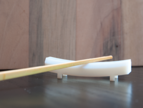 TORii chopstick rest in White Natural Versatile Plastic