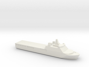KRI Banjarmasin, 1/2400 in White Natural Versatile Plastic