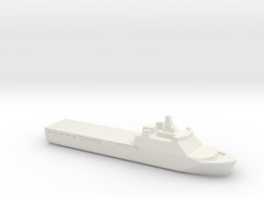 KRI Banjarmasin, 1/3000 in White Natural Versatile Plastic