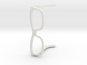 LB Glasses in White Strong & Flexible