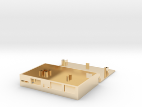 Dragonboard 410c case in 14k Gold Plated Brass