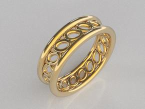 GBW5 Mns Loop Band in 14K Yellow Gold