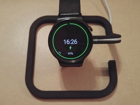 Huawei Watch Charging Stand in Black Natural Versatile Plastic
