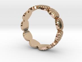 Ring - US 9, AUS/UK R 1/2. in 14k Rose Gold