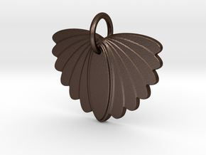 Wings in Matte Bronze Steel