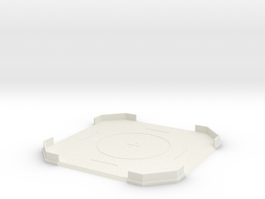 Landing Pad in White Natural Versatile Plastic