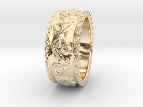 Dragon Ring 2016 in 14K Yellow Gold
