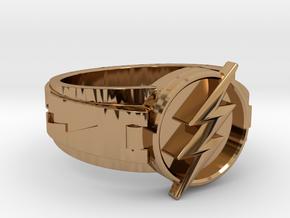 V3 Regular Flash Size 8.5 18.53mm in Polished Brass