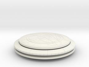 Confession Dial (Complete Version) in White Natural Versatile Plastic