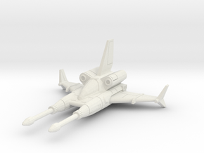 SPR-H5 Sparrowhawk in White Natural Versatile Plastic