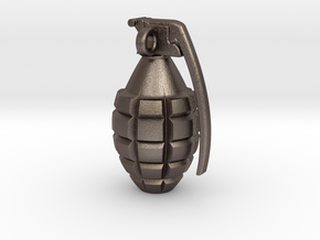 Keychain Grenade      25mm height in Stainless Steel