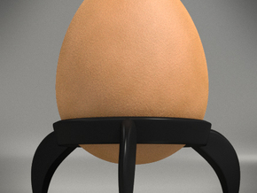 Egg Rocket Tripod Cup 2x in Black Natural Versatile Plastic