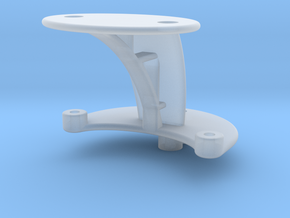 XuGong V2 - Mount for Controller & Cased Cam in Smooth Fine Detail Plastic