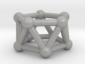 0438 Pentagonal Antiprism (a=1сm) #003 in Aluminum