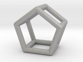 0439 Pentagonal Prism (a=1сm) #001 in Aluminum