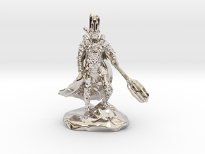 The Dark Lord with His Deadly Mace in Platinum