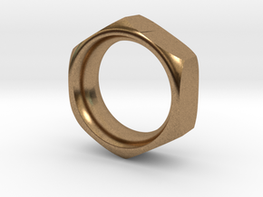 The Reverse Engineer (18mm) in Natural Brass