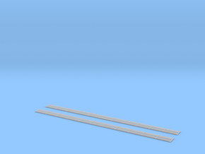 NBB06 Concrete barrier in Smooth Fine Detail Plastic