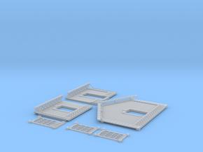 NGPLM45 Modular PLM train station in Smooth Fine Detail Plastic