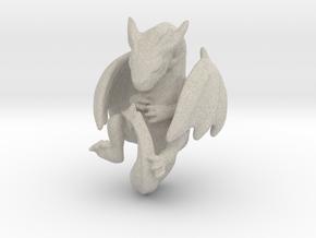 Infant Dragon in Natural Sandstone