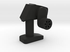 Mini-Fig Radiopost TS-401 in Black Natural Versatile Plastic
