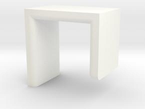 Beats Holder in White Processed Versatile Plastic