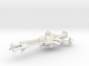 Superfastadvice (1:18 Scale) in White Natural Versatile Plastic