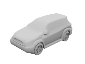 1:500_SUV [X50][A] in Smooth Fine Detail Plastic