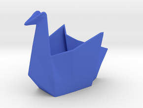 CRANE desk organizer  in Blue Processed Versatile Plastic