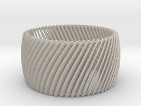 Ring Strips Size 6 in Natural Sandstone