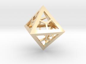 Diamond Custom in 14k Gold Plated Brass